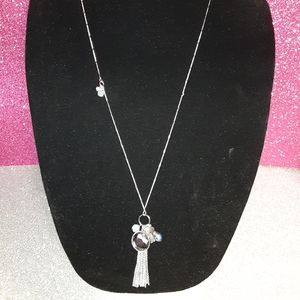 EXPRESS CHARM NECKLACE SILVER